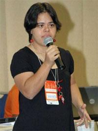 Débora Araújo ministra palestras em todo o país e fora daqui
