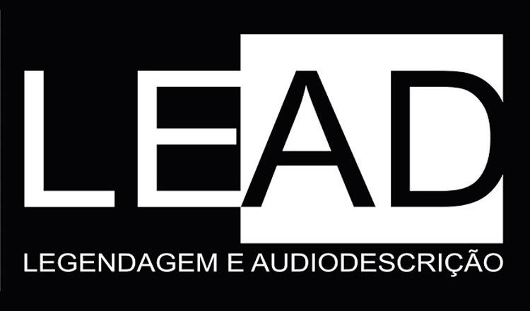 Logomarca do Grupo LEAD em branco e preto